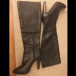 Steve Madden Leather Knee High Boots - Size 7.5